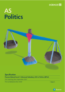 AS Politics 2017 specification